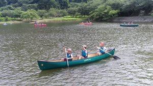3人乗りカヌー